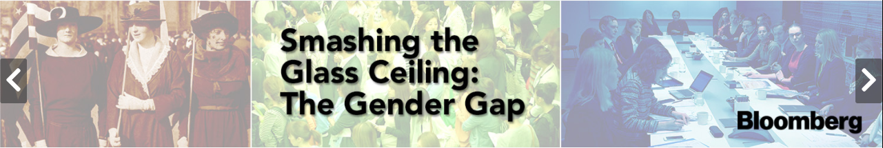 Button linking to Smashing the Glass Ceiling: The Gender Gap. By Bloomberg. On Films On Demand.
