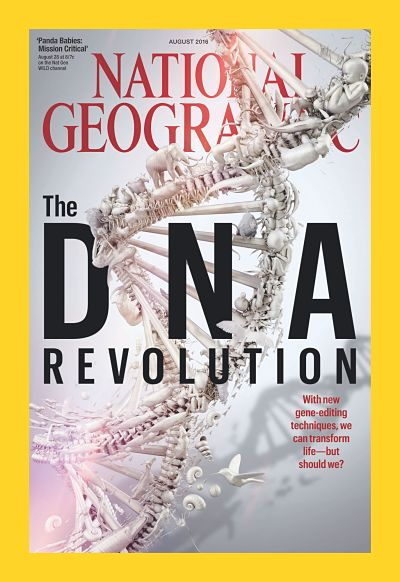 National Geographic cover, DNA Revolution