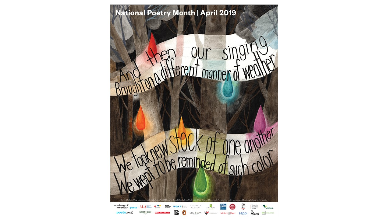 Poster, 2019 National Poetry Month