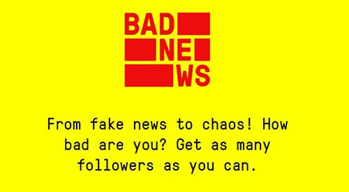 Bad News fake news game