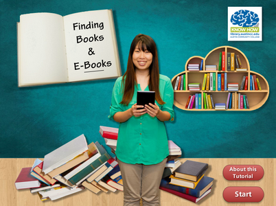 Finding Books & Ebooks Tutorial