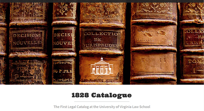 1828 Catalogue Project website