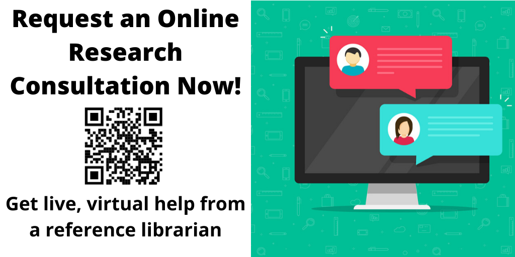 Use the linked form to get help from a subject specialist librarian.