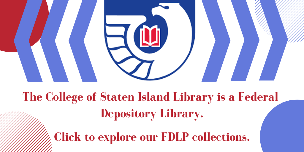 Explore Our FDLP Government Documents Collection