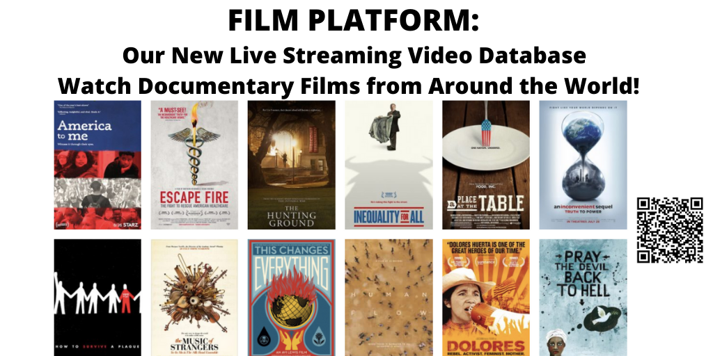 Film Platform: a new livestreaming service with documentaries from around the world. Click to access.