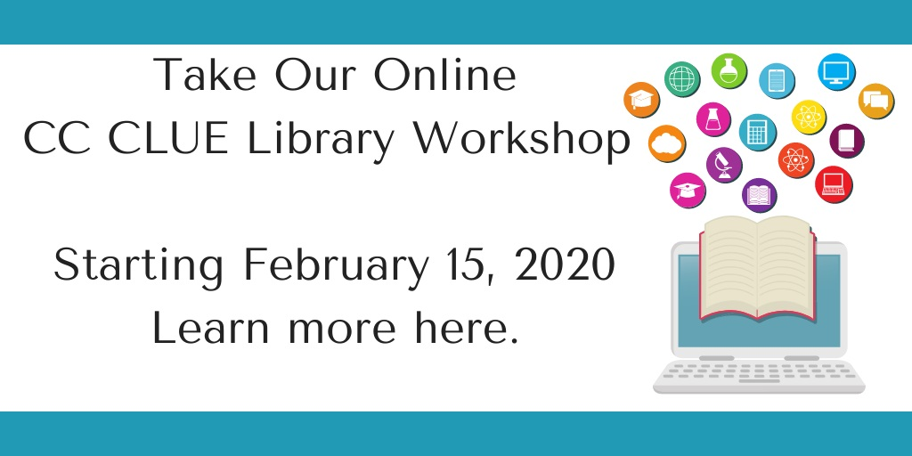 Take the Learning about Library Resources at the CSI Library tutorial for CC-CLUE credit
