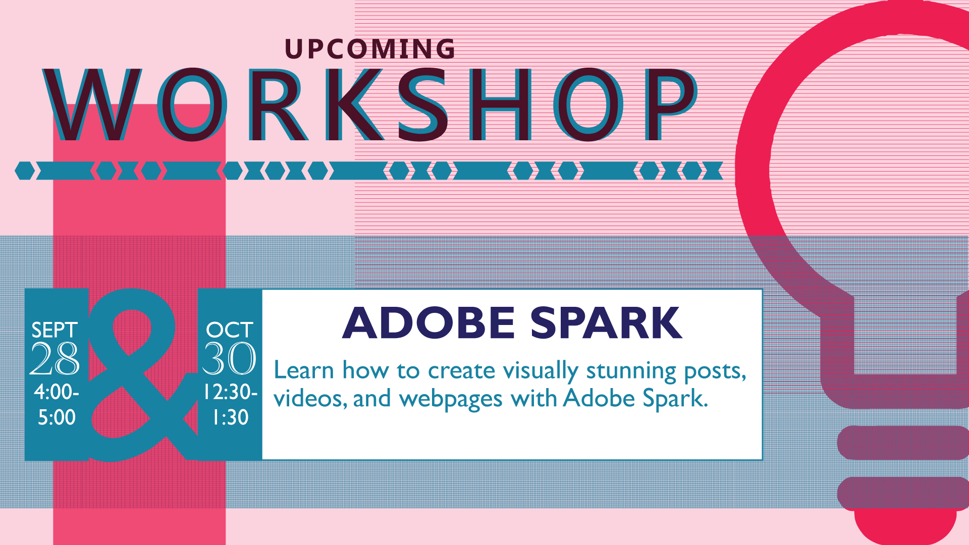 Adobe Spark Worksop