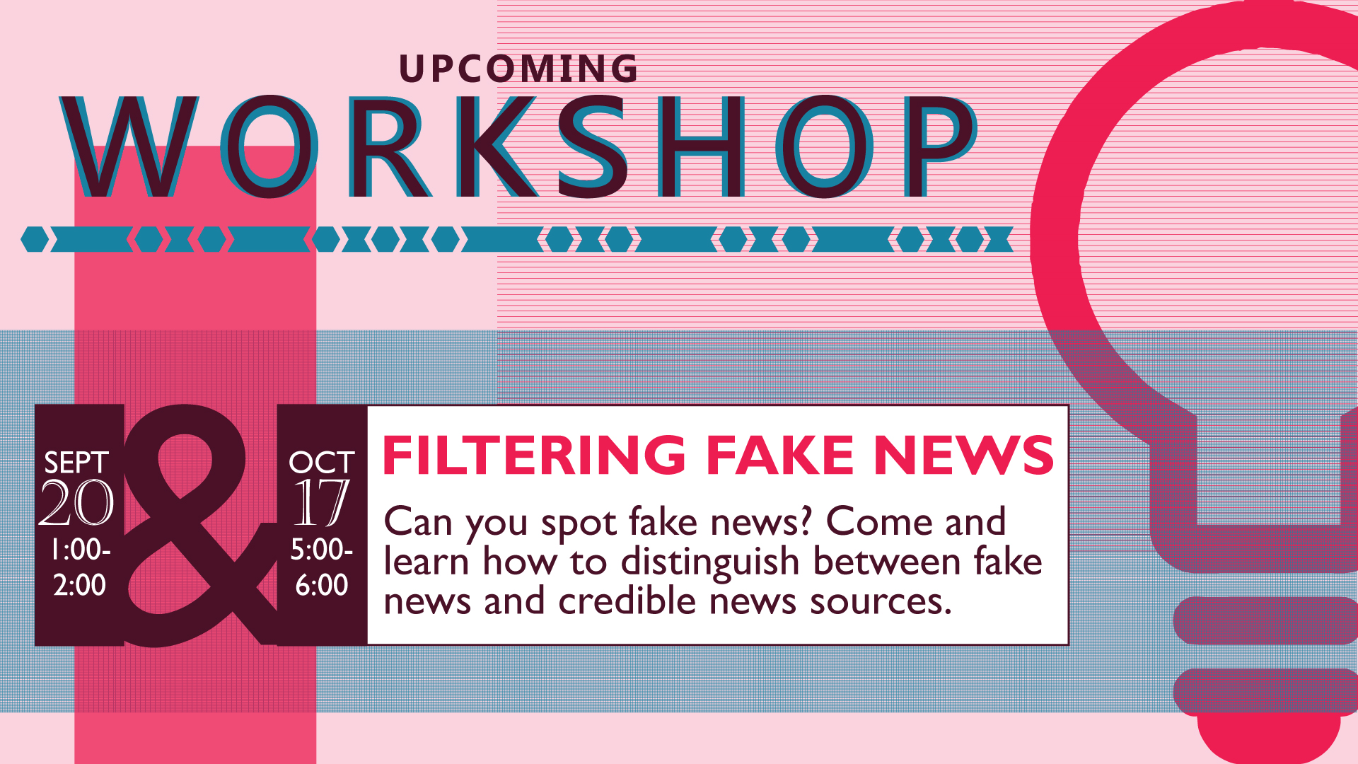 Filtering Fake News Workshop