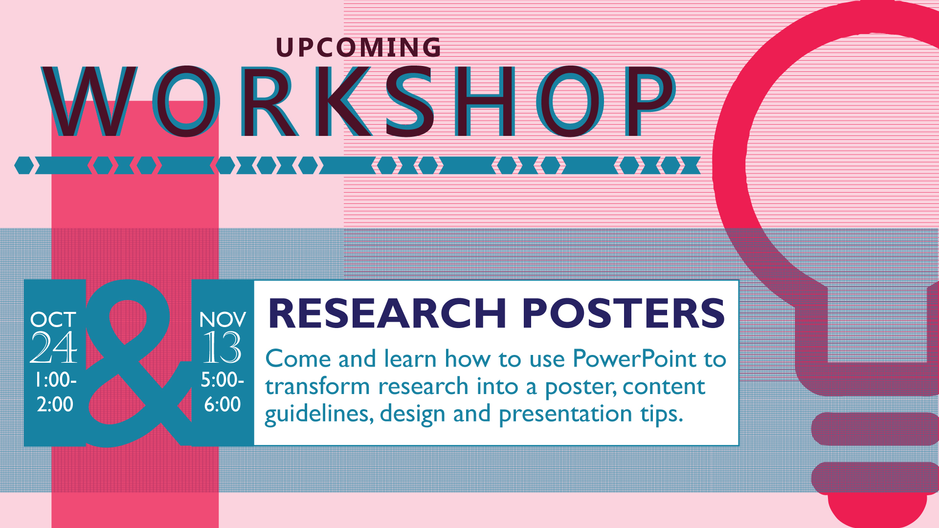 Research Posters Workshop