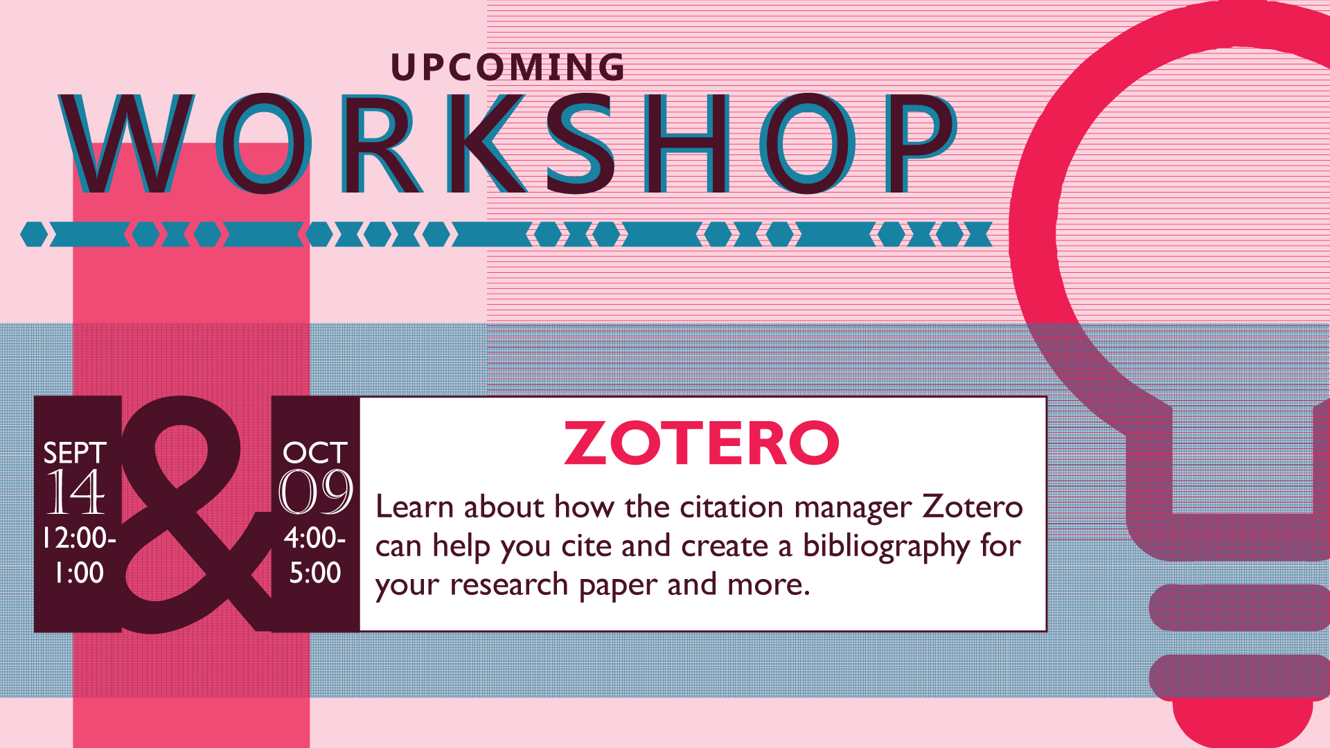 Zotero Workshops