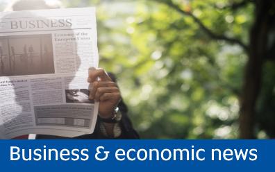 Navigate to Business and economic news
