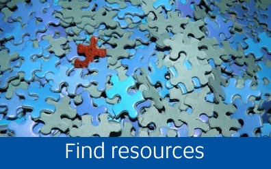 Navigate to Find resources tab