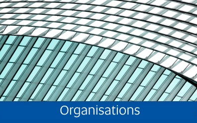 Navigate to the Organisations page within this guide