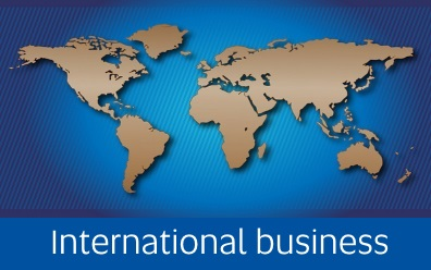 Navigate to International business page