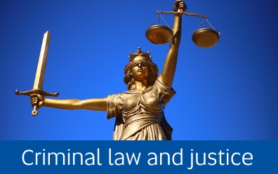 Navigate to Criminal law and justice page