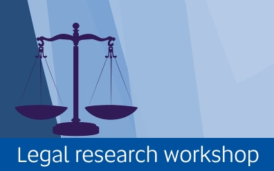 Navigate to Legal research workshop