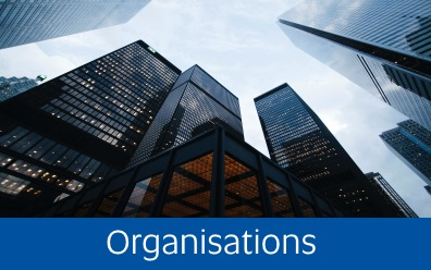 Navigate to organisations page
