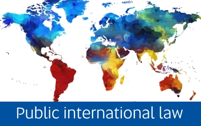 Navigate to Public international law page