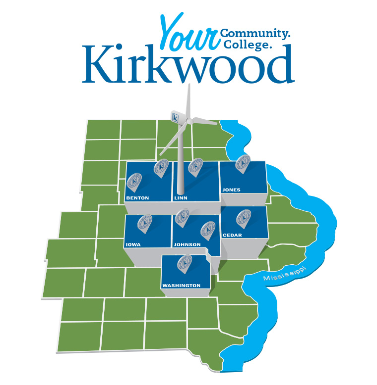 Kirkwood Regional and County Center Locations Link