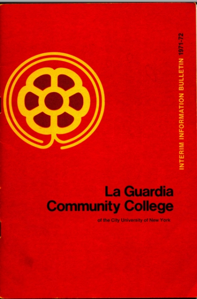 Image of LaGuardia Community College Catalog cover