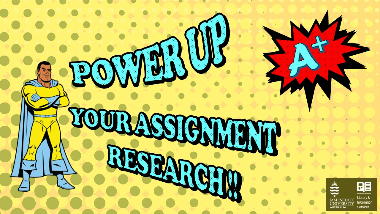 Power up your assignment research