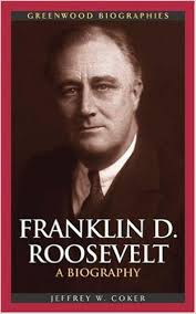 Book cover of Franklyn Delano Roosevelt biography