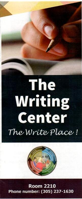 the Writing Center location & phone #