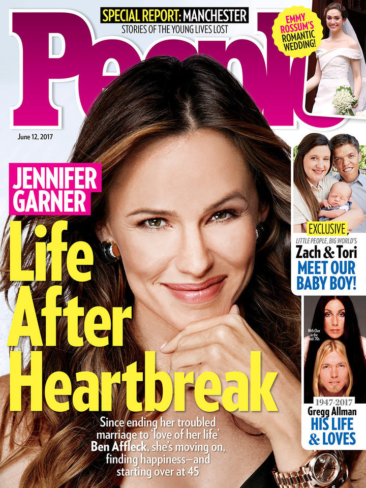 People magazine cover. Jennifer Garner is on it.