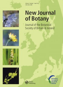 Cover of the New Journal of Botany