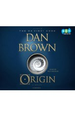 Audiobook cover Author: Dan Brown Title: Origin