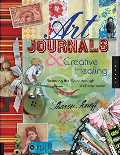 Art journals and creative healing book cover