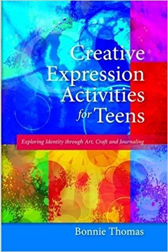 Creative expression activities book cover