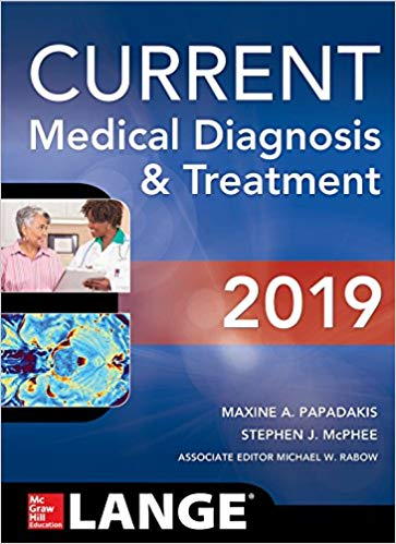Current medical diagnosis 2019
