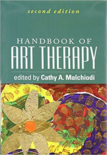 Handbook of art therapy book cover