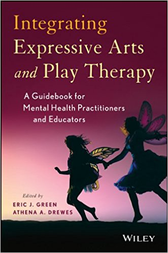 Integrating expressive arts book cover