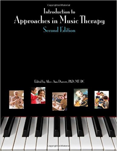 Introduction to approaches in music therapy book cover
