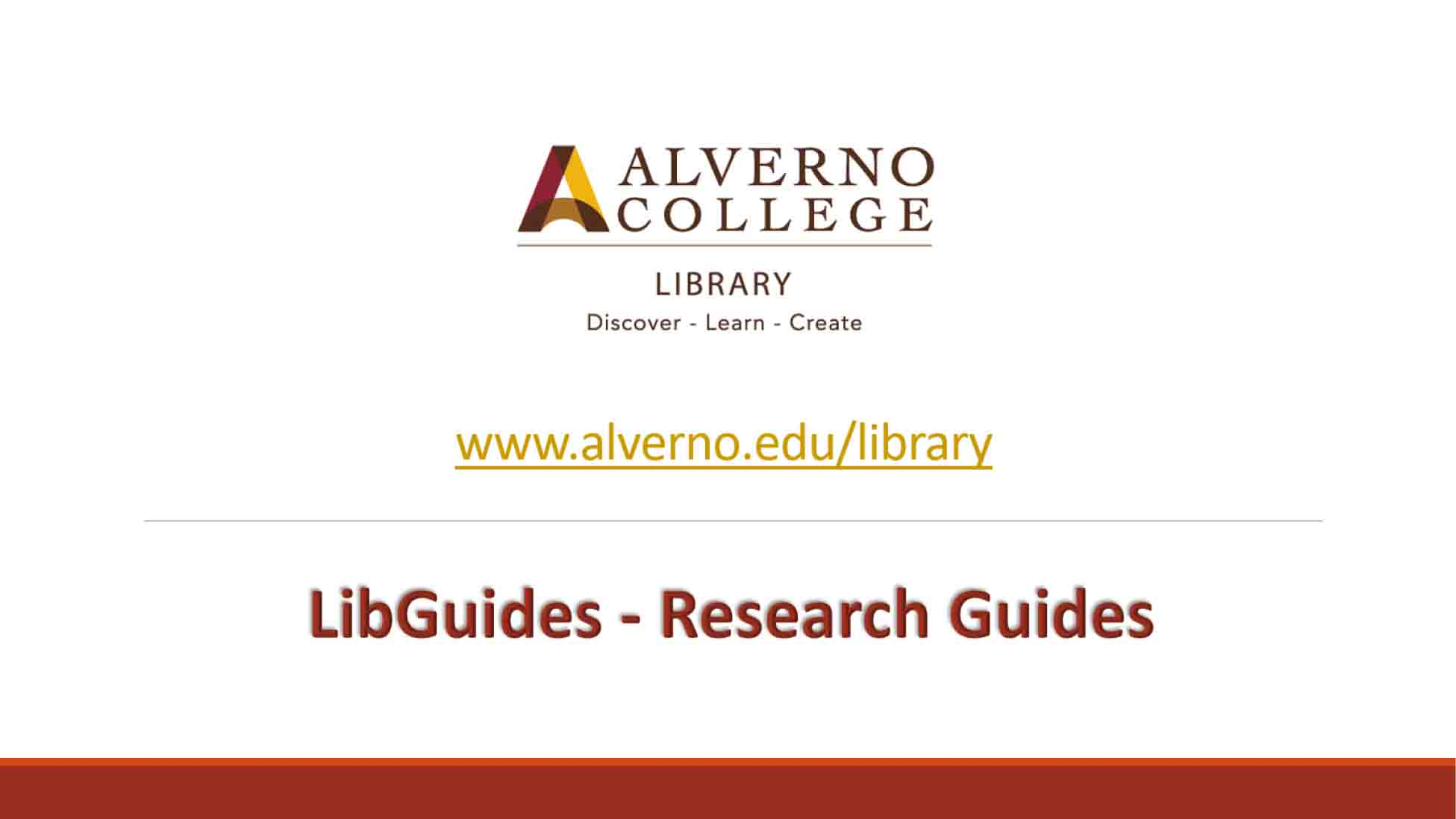 LibGuides video