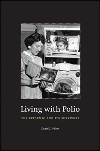 Liviing with polio book cover