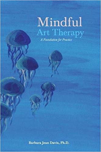 Mindful art therapy book cover