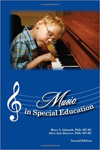 Music in special education book cover