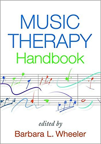 Music therapy handbook book cover