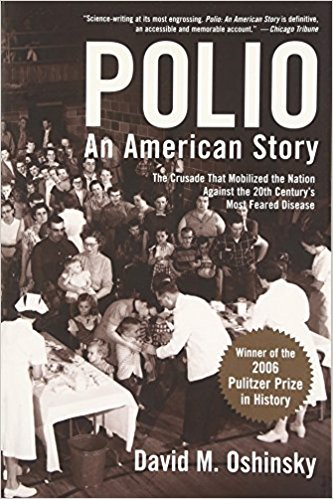 Polio an American story book cover