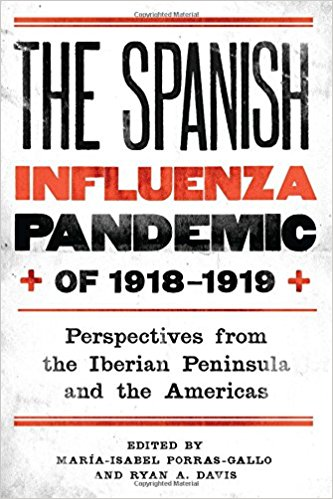 The Spanish influenza book cover