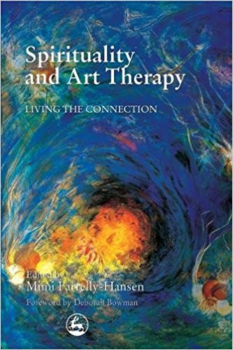 Spirituality and art therapy book cover