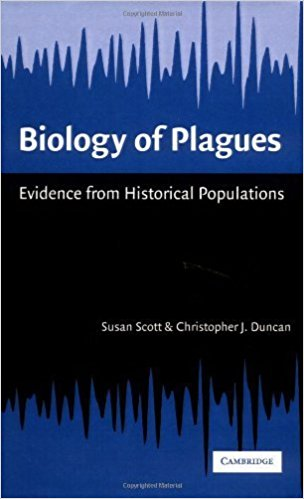 Biology of plagues book cover