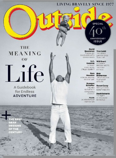 Outside magazine cover