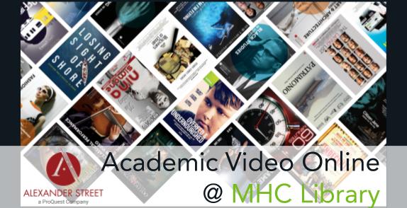 Academic Video Online Database