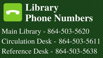 Library Phone Numbers Image 864-503-5620