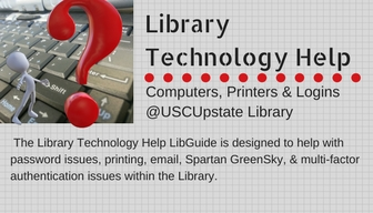 Library Technology Help box