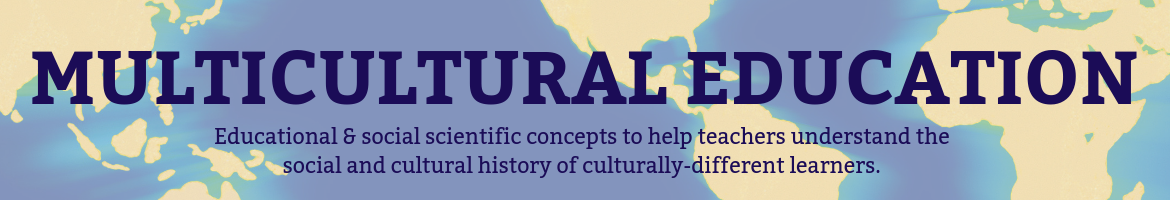 Multicultural Education Header